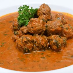 MEAT BALL CURRY OR BAD WORD CURRY