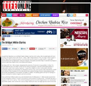 Interview Shrilanka Daily Mirror