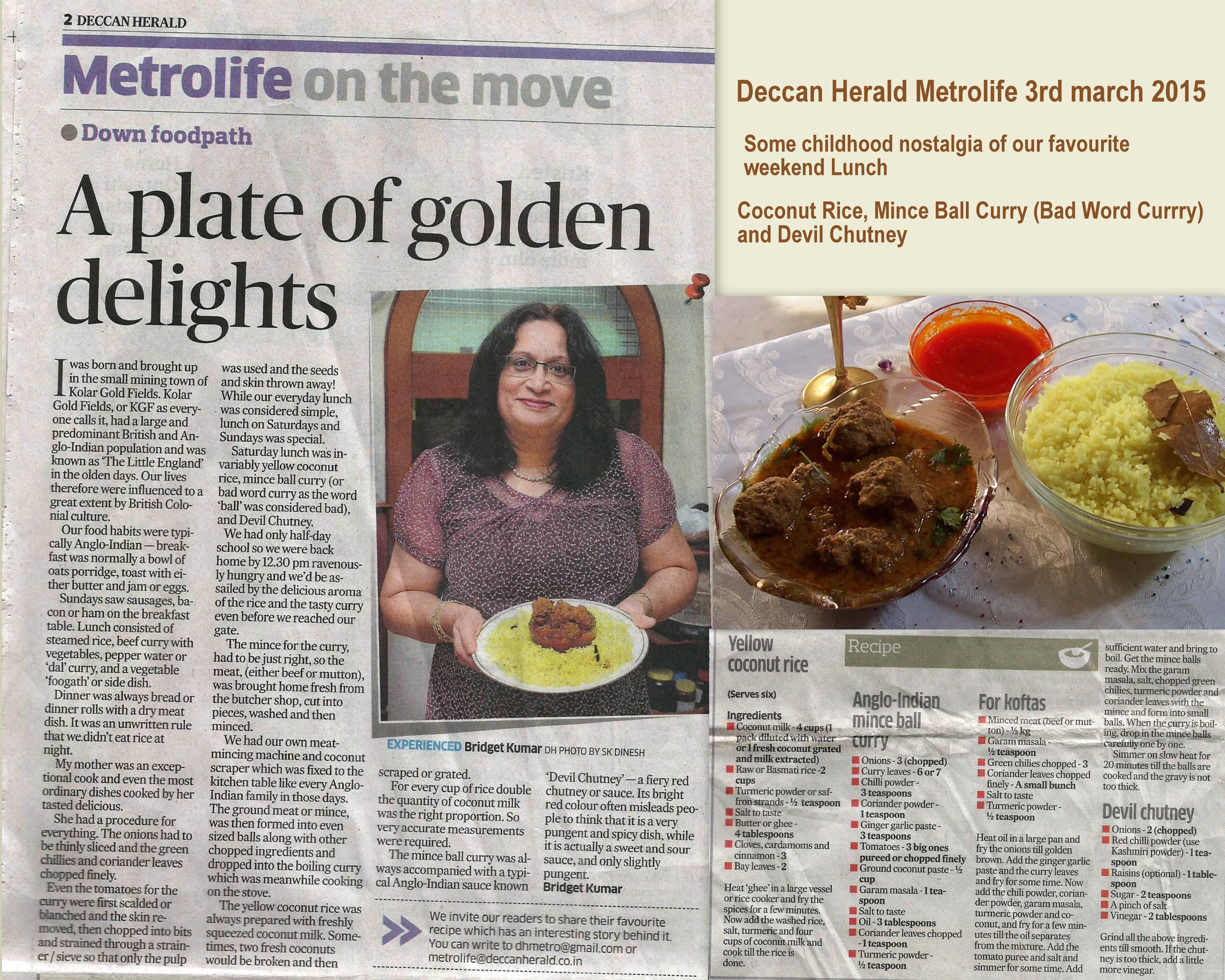 Deccan-Herald-3rd-March-2015-Coconut-Rice